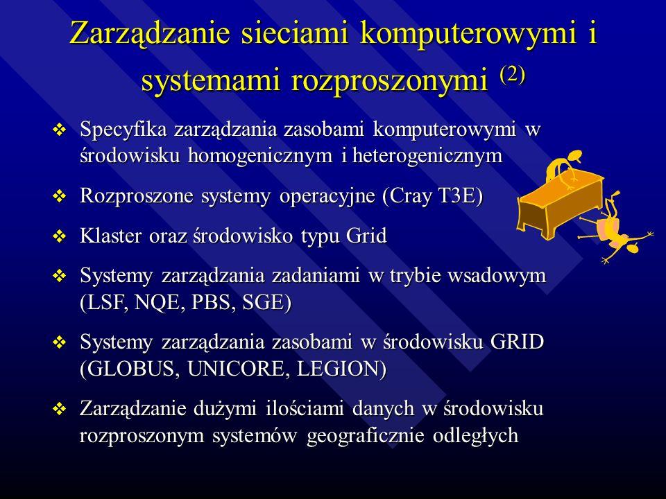 Zarządzanie sieciami komputerowymi i systemami rozproszonymi (2)