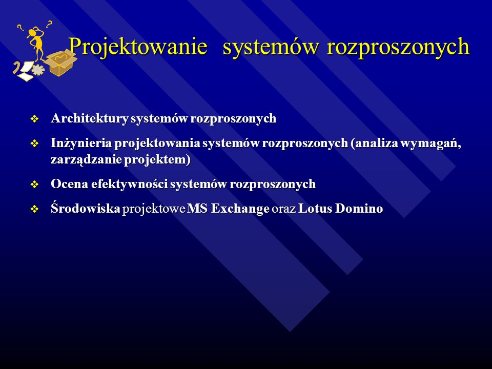 Projektowanie systemów rozproszonych