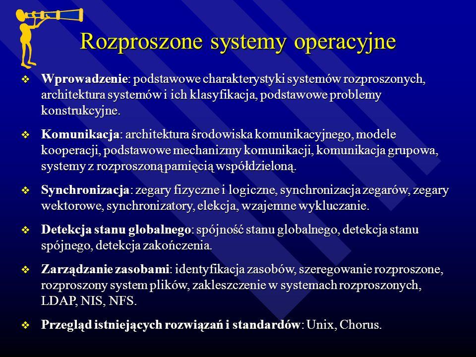 Rozproszone systemy operacyjne