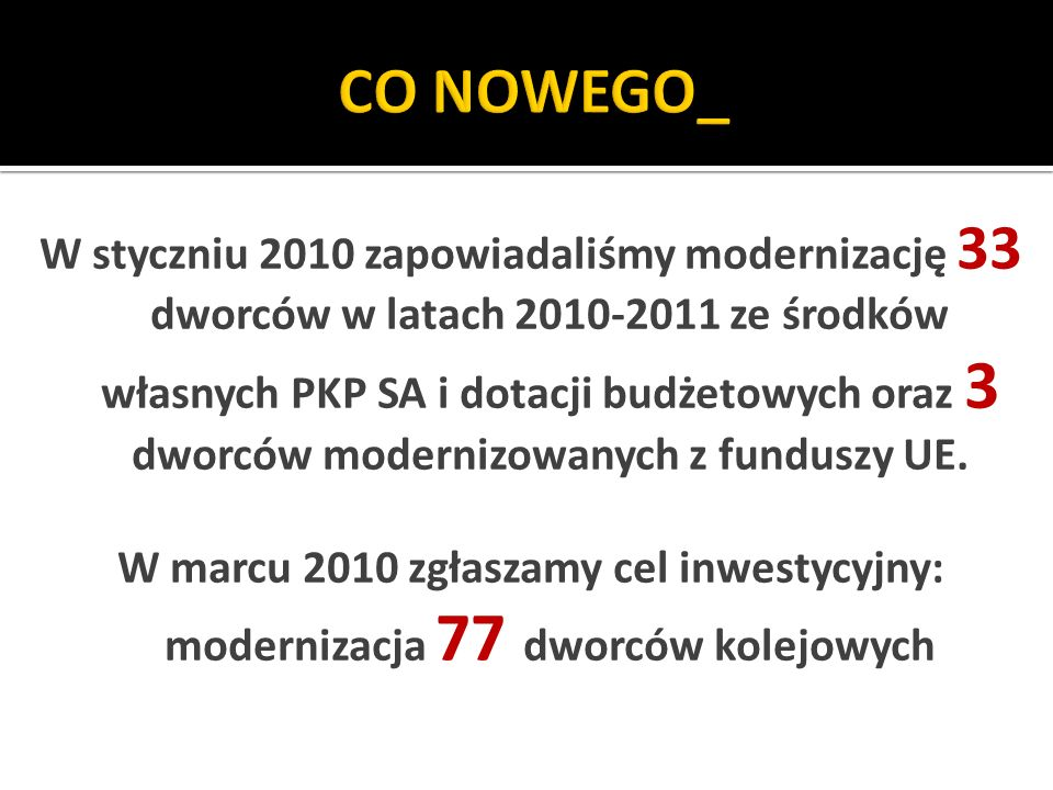 CO NOWEGO_