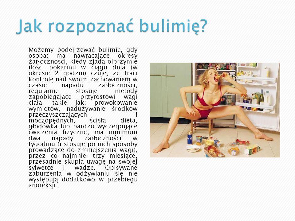 Jak rozpoznać bulimię