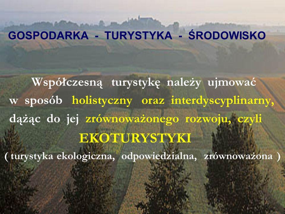 GOSPODARKA - TURYSTYKA - ŚRODOWISKO