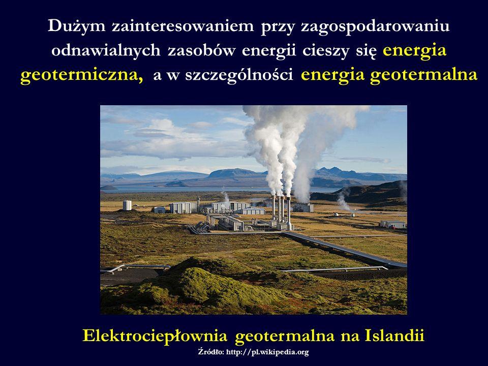 Elektrociepłownia geotermalna na Islandii