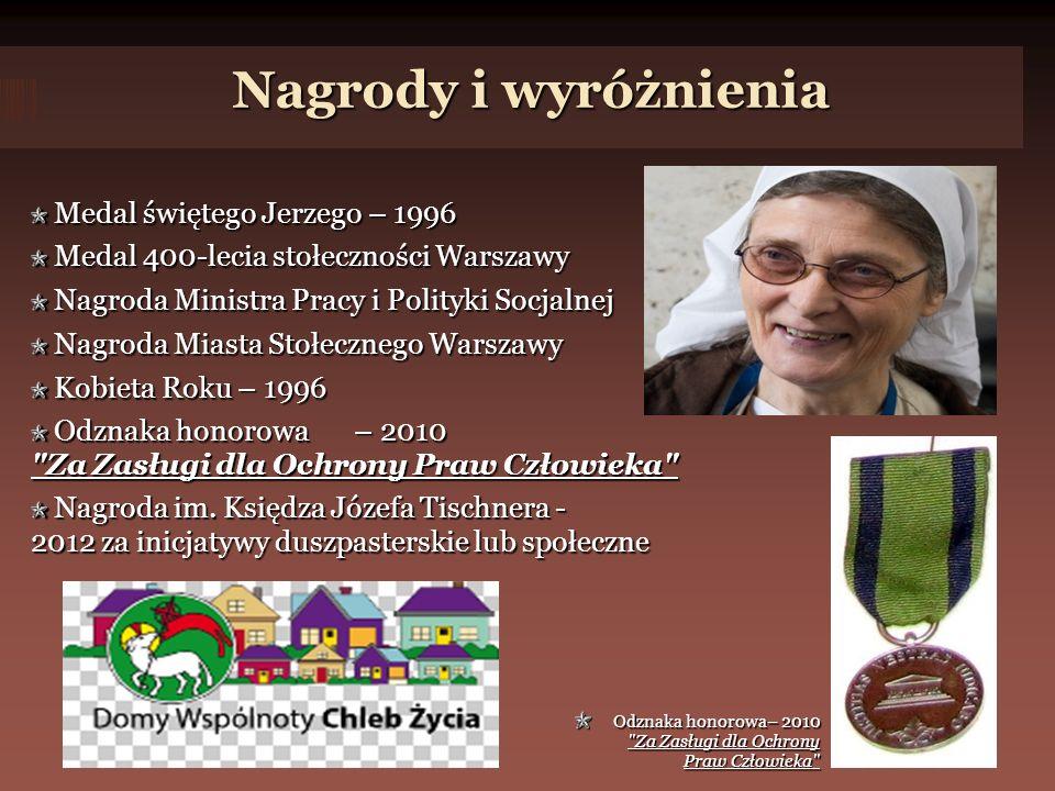 Nagrody i wyróżnienia Medal świętego Jerzego – 1996