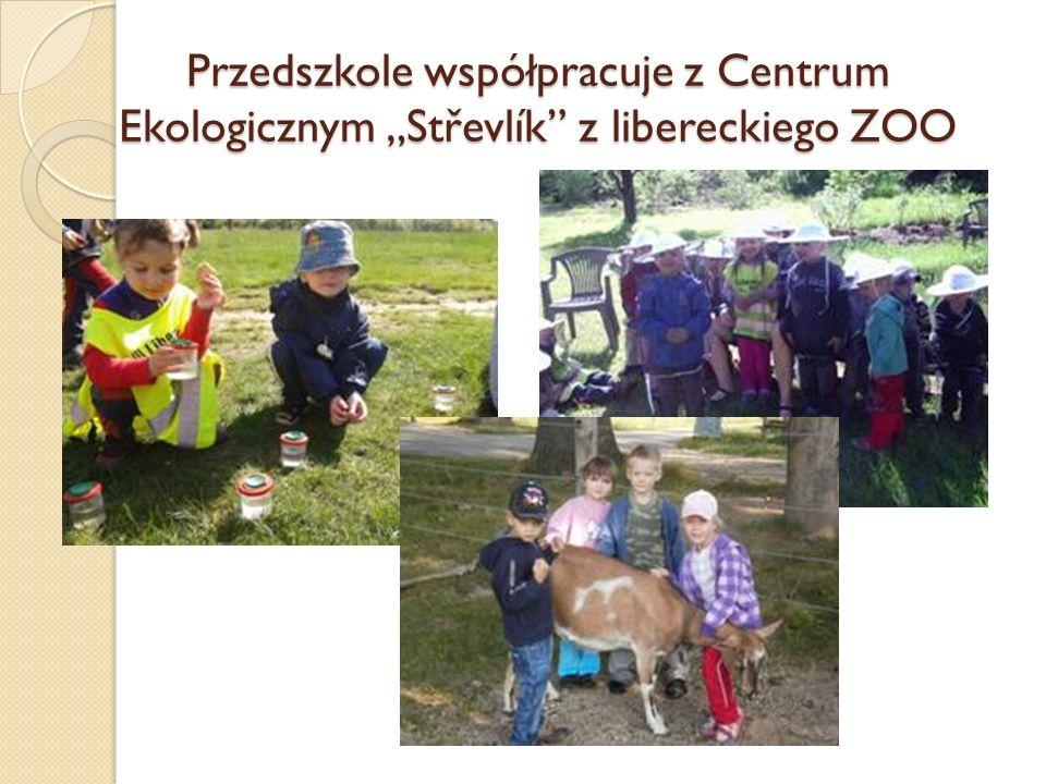 """Przedszkole współpracuje z Centrum Ekologicznym """"Střevlík z libereckiego ZOO"""