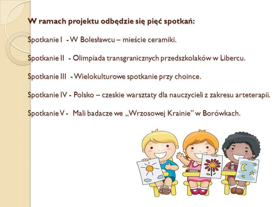 W ramach projektu odbędzie się pięć spotkań: Spotkanie I - W Bolesławcu – mieście ceramiki.