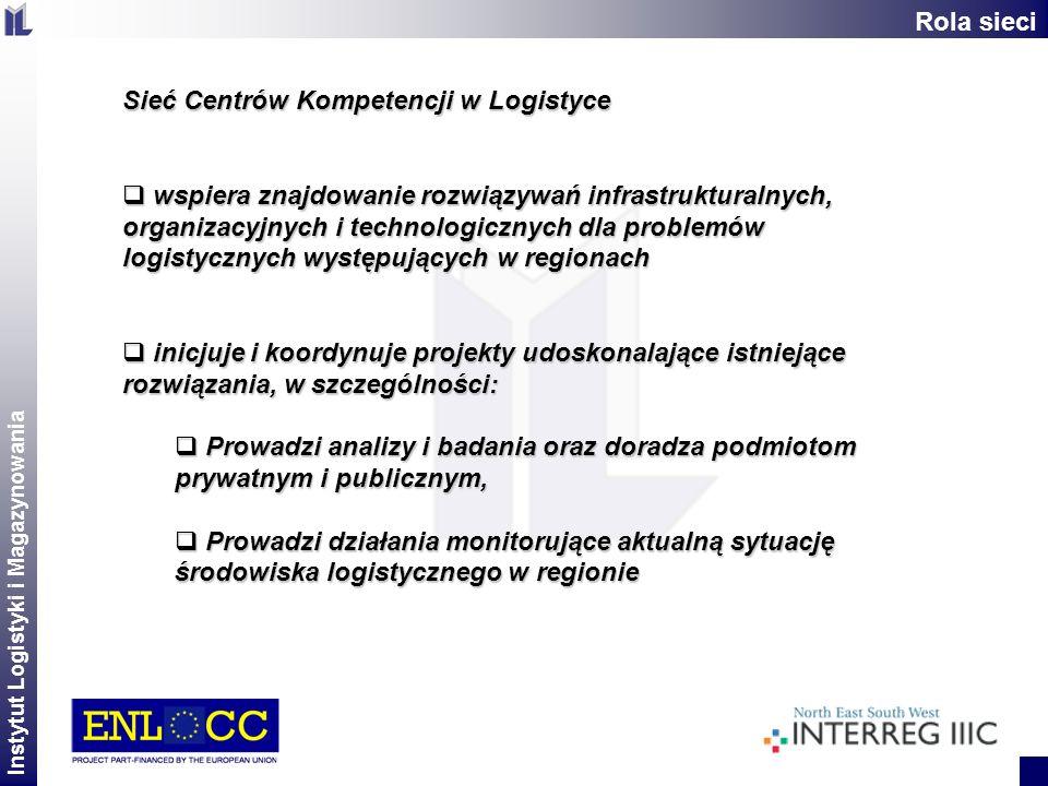 Rola sieci Sieć Centrów Kompetencji w Logistyce.