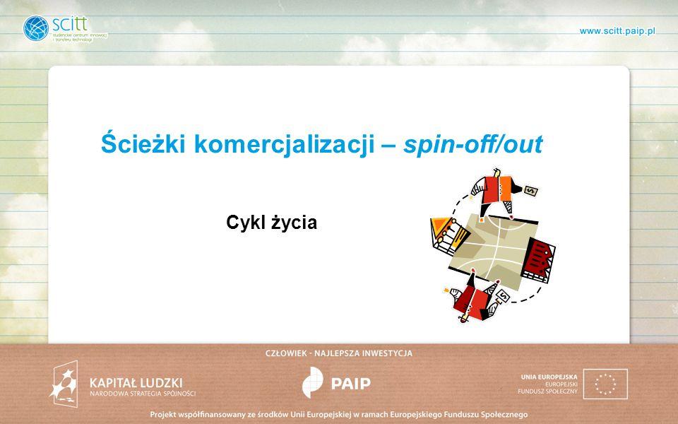 Ścieżki komercjalizacji – spin-off/out