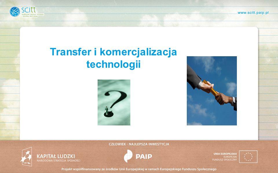 Transfer i komercjalizacja technologii