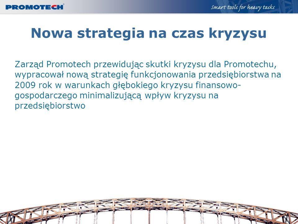 Nowa strategia na czas kryzysu