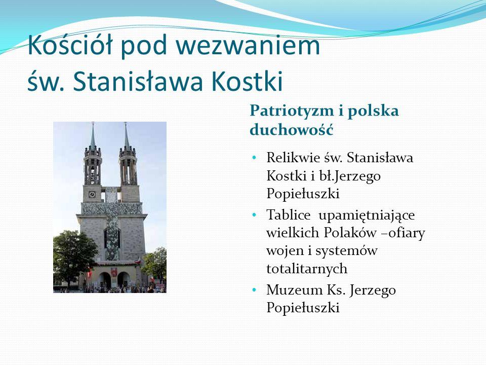 Kościół pod wezwaniem św. Stanisława Kostki