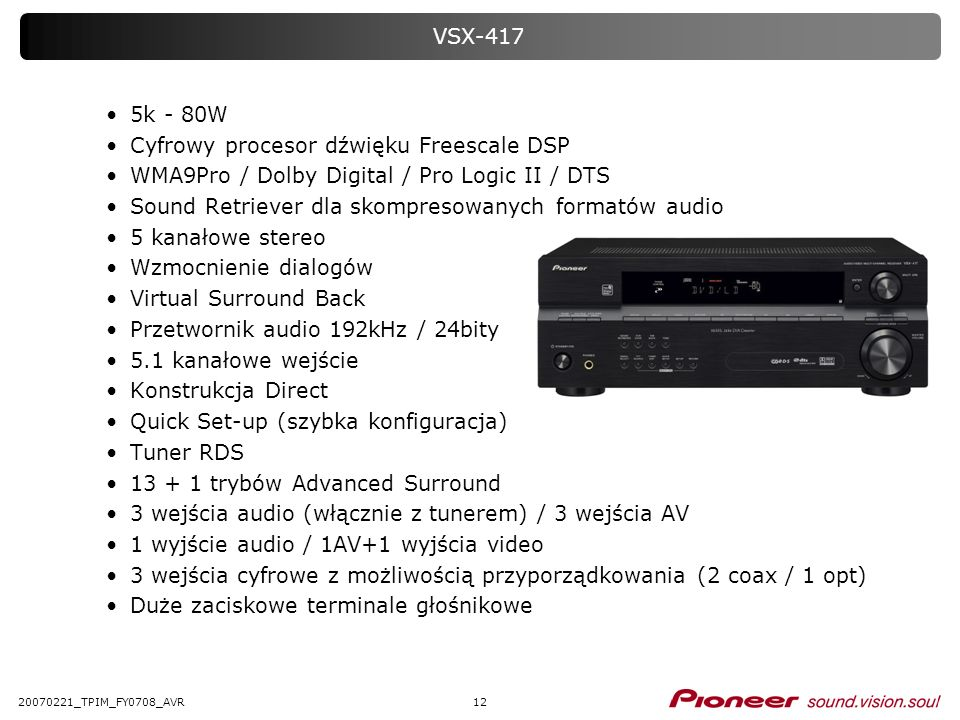 Cyfrowy procesor dźwięku Freescale DSP