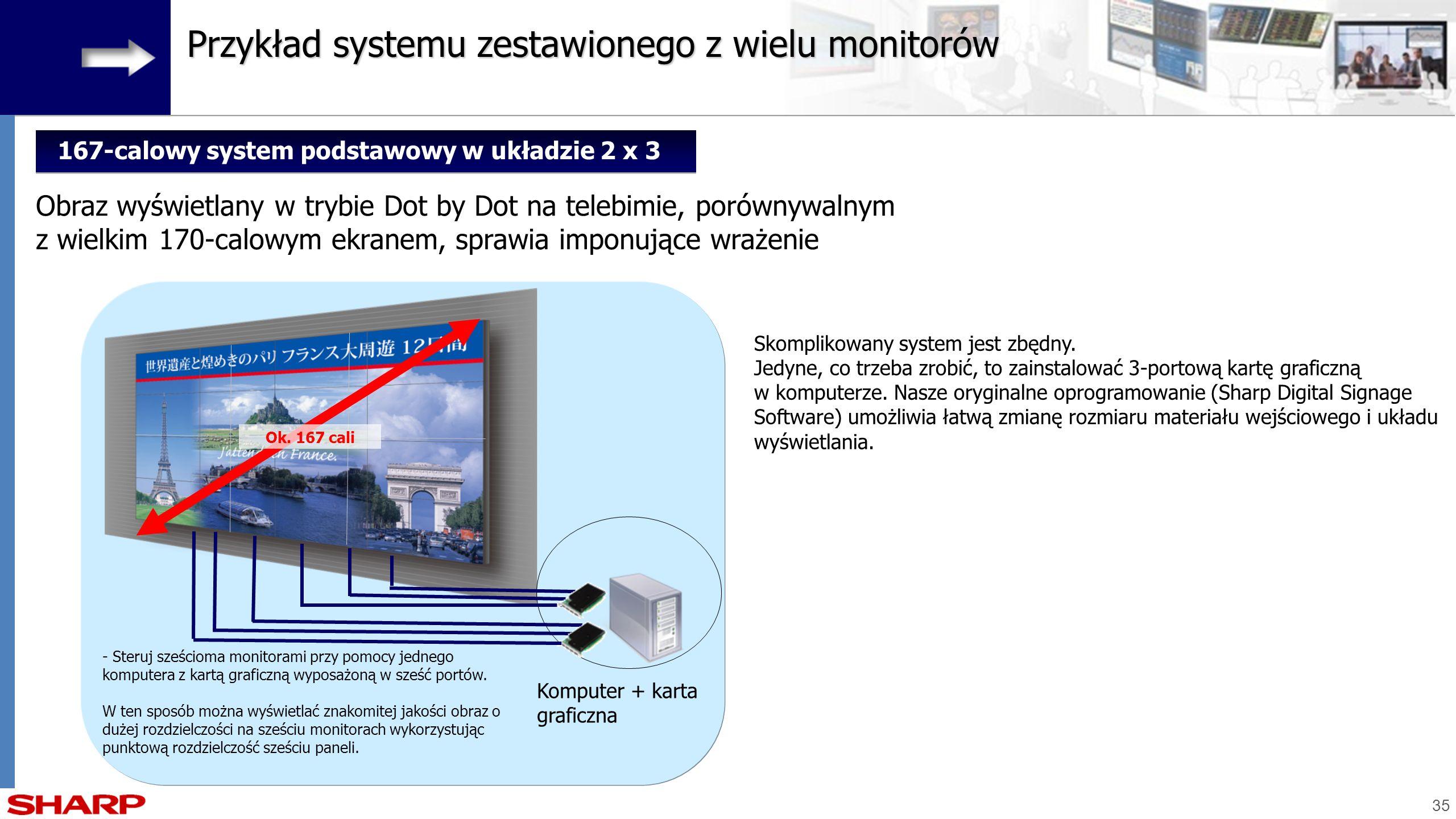 167-calowy system podstawowy w układzie 2 x 3