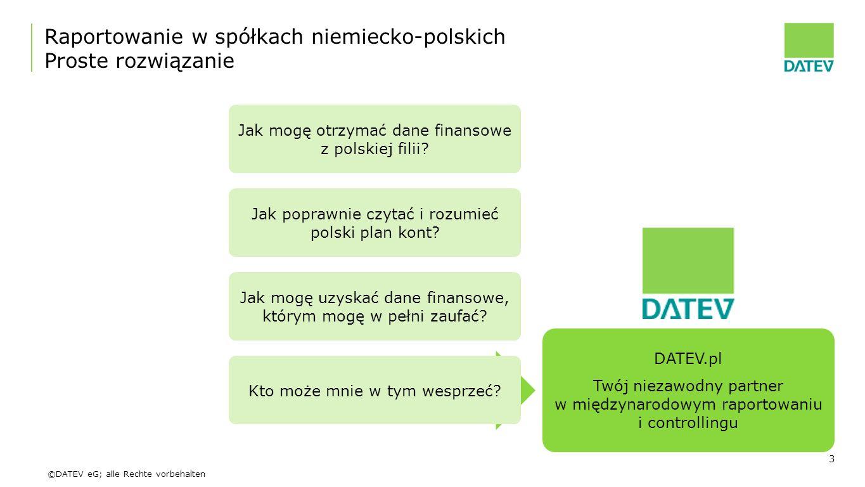 Raportowanie w spółkach niemiecko-polskich Proste rozwiązanie