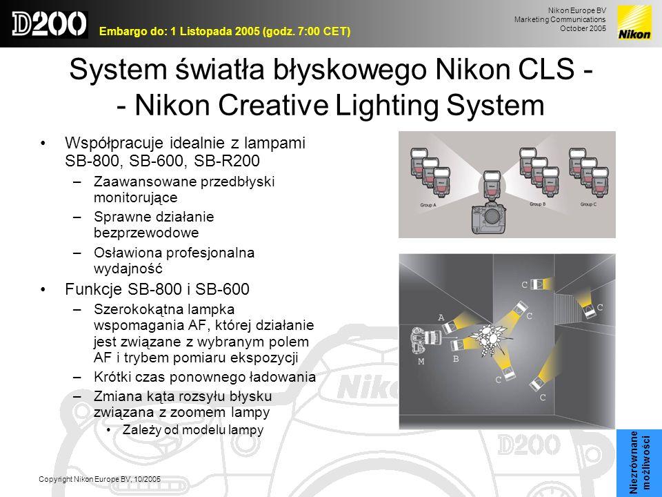 System światła błyskowego Nikon CLS - - Nikon Creative Lighting System