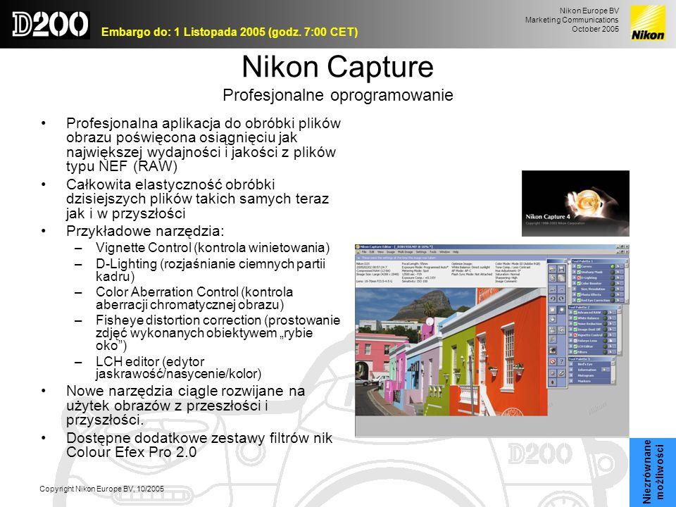 Nikon Capture Profesjonalne oprogramowanie