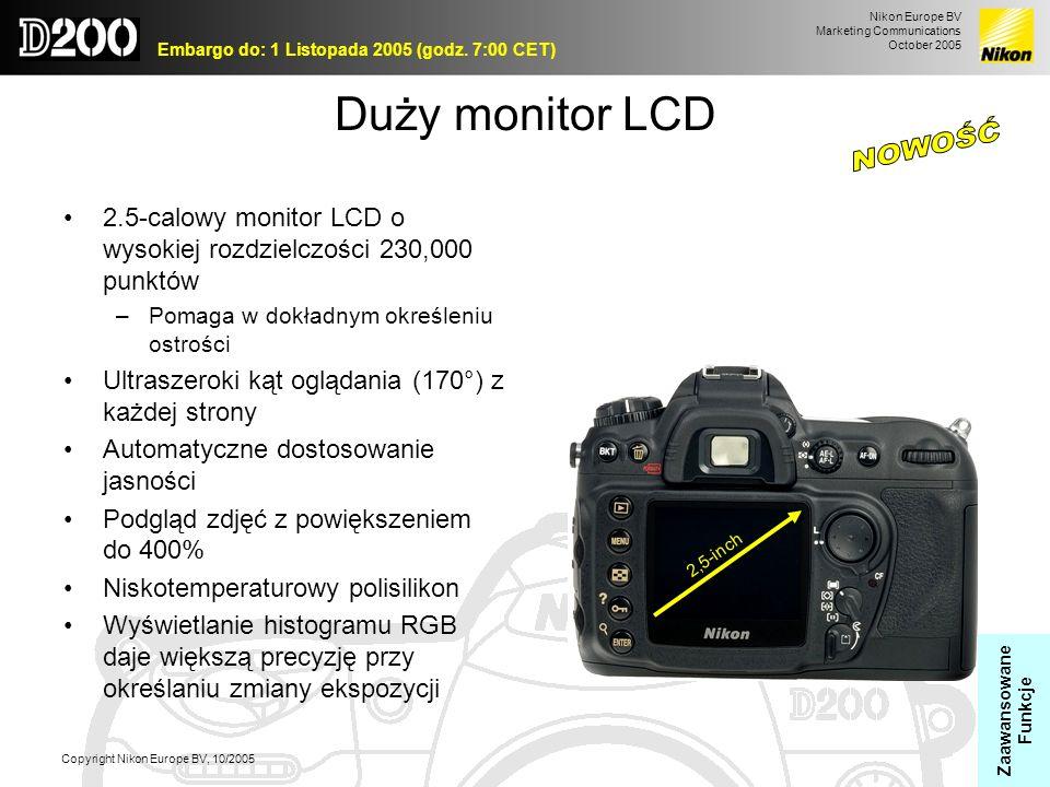 NOWOŚĆ Duży monitor LCD