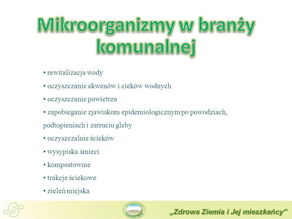 Mikroorganizmy w branży komunalnej