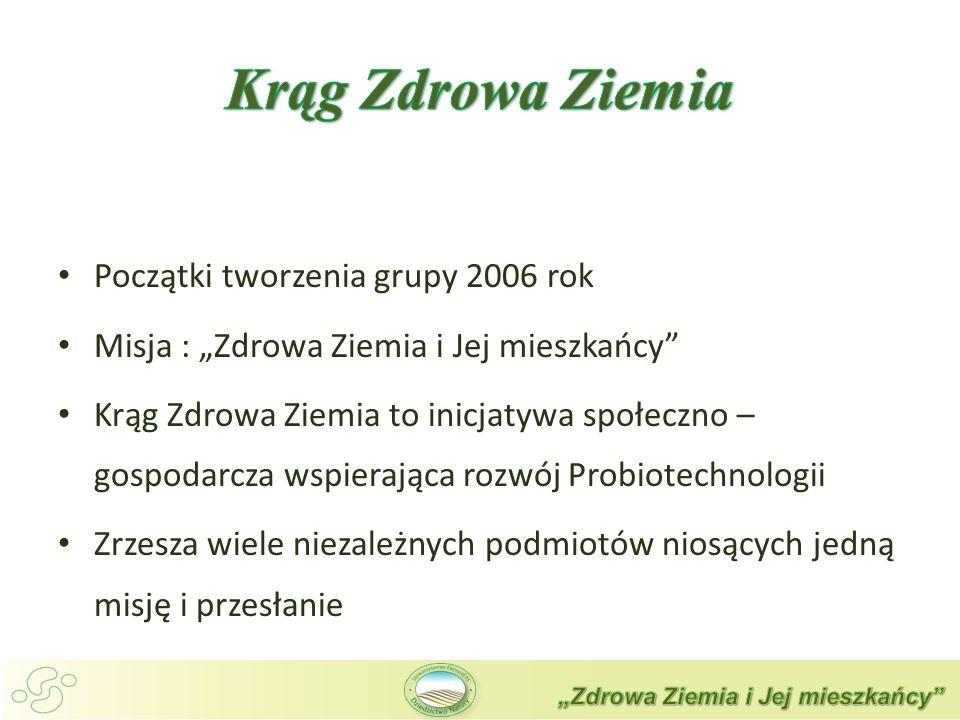 Krąg Zdrowa Ziemia Początki tworzenia grupy 2006 rok