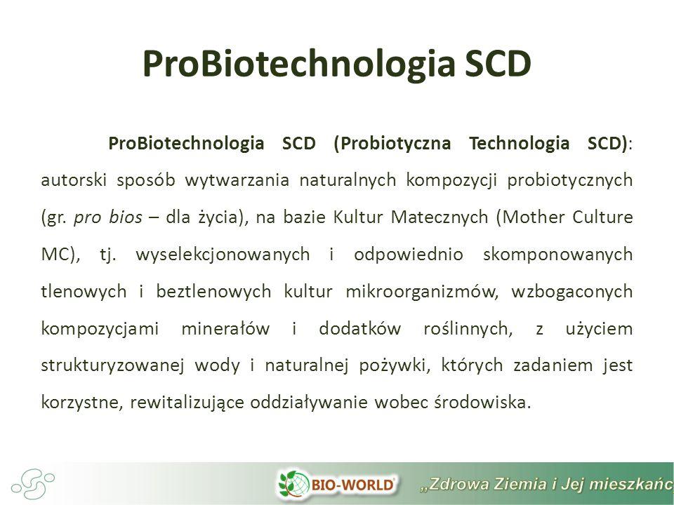 ProBiotechnologia SCD