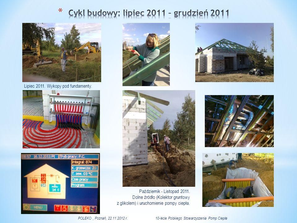 Cykl budowy: lipiec 2011 – grudzień 2011