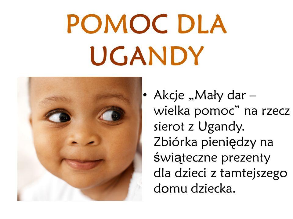 POMOC DLA UGANDY