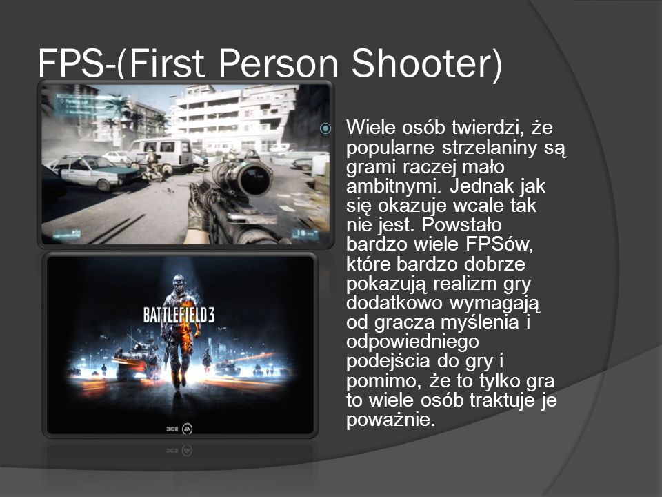 FPS-(First Person Shooter)