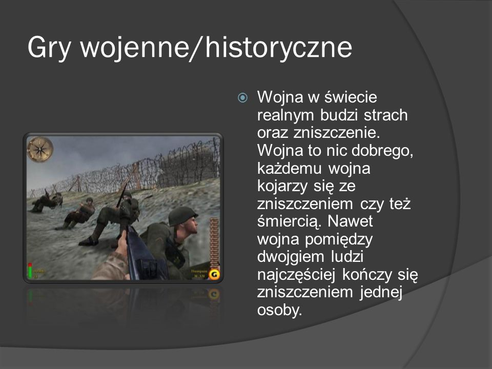 Gry wojenne/historyczne