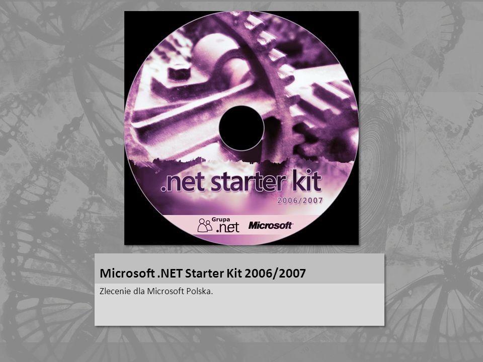Microsoft .NET Starter Kit 2006/2007