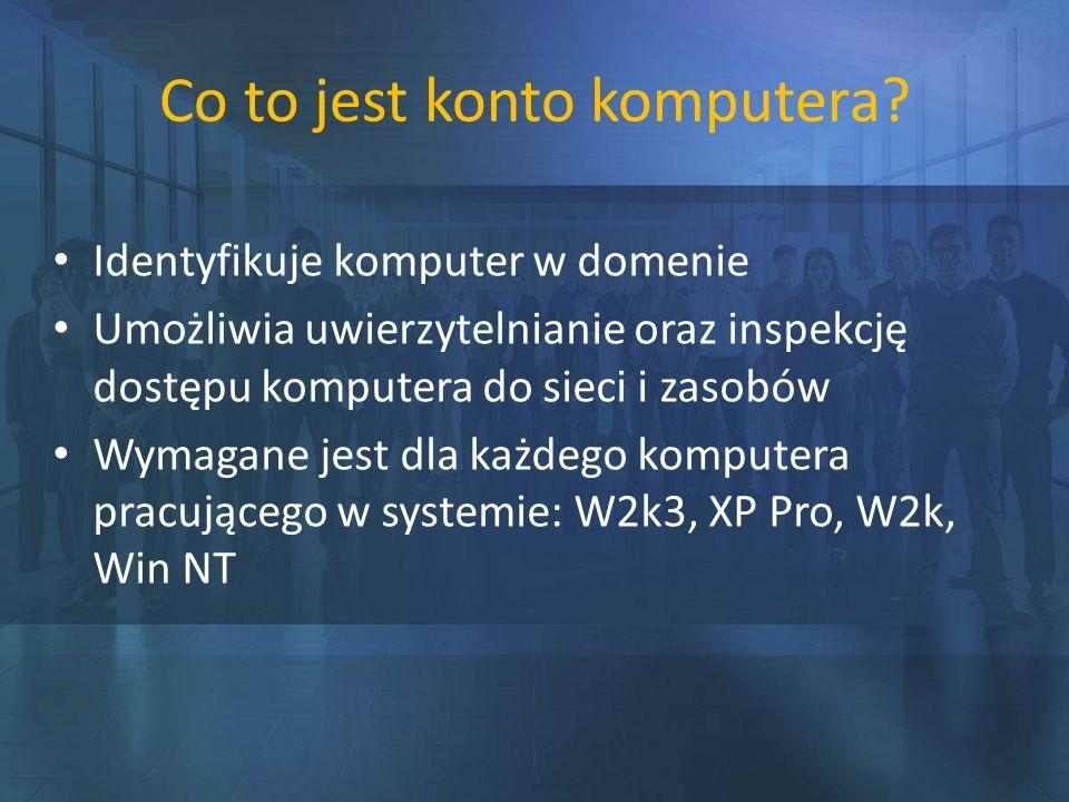 Co to jest konto komputera