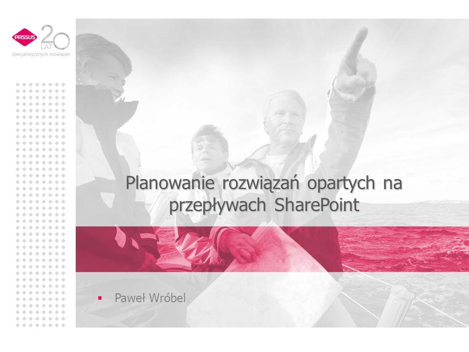 Planowanie rozwiązań opartych na przepływach SharePoint