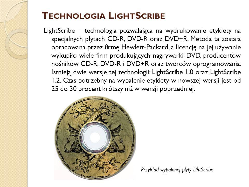 Technologia LightScribe