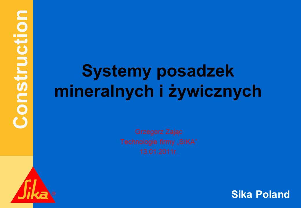 Systemy posadzek mineralnych i żywicznych