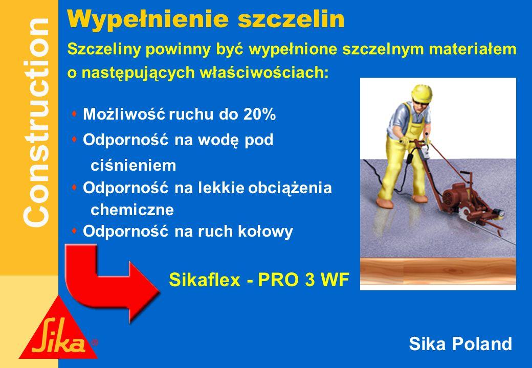 Wypełnienie szczelin Sikaflex - PRO 3 WF