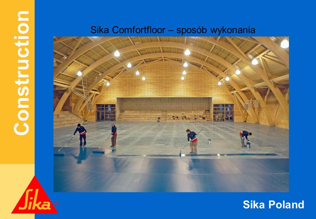 Sika Comfortfloor – sposób wykonania