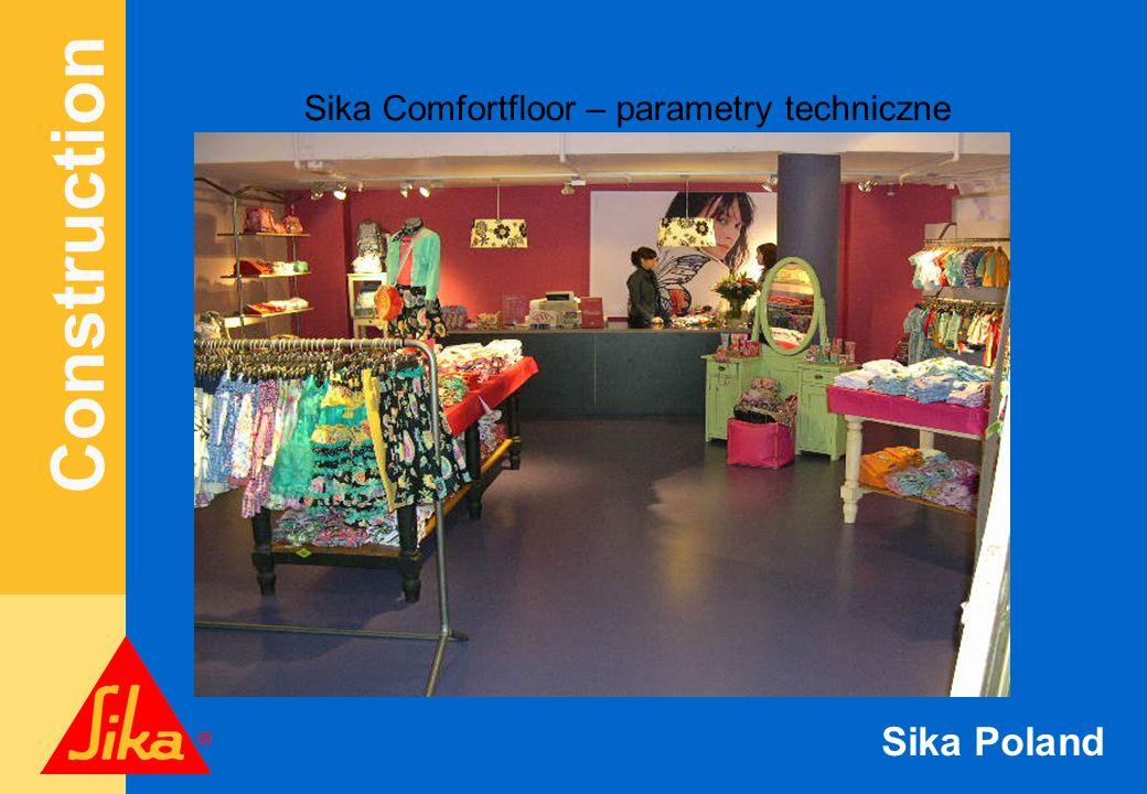 Sika Comfortfloor – parametry techniczne
