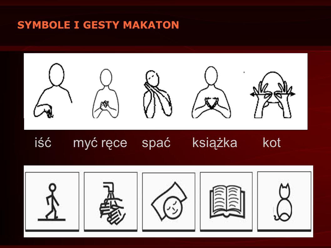 SYMBOLE I GESTY MAKATON