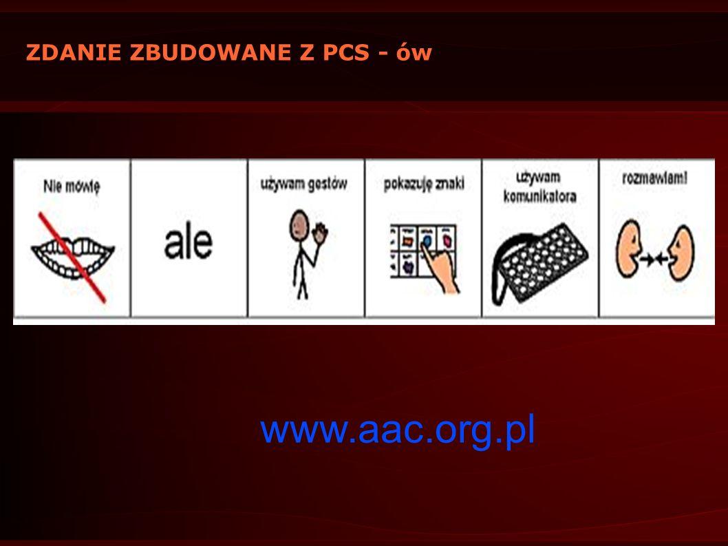 ZDANIE ZBUDOWANE Z PCS - ów