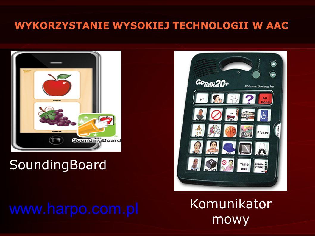WYKORZYSTANIE WYSOKIEJ TECHNOLOGII W AAC