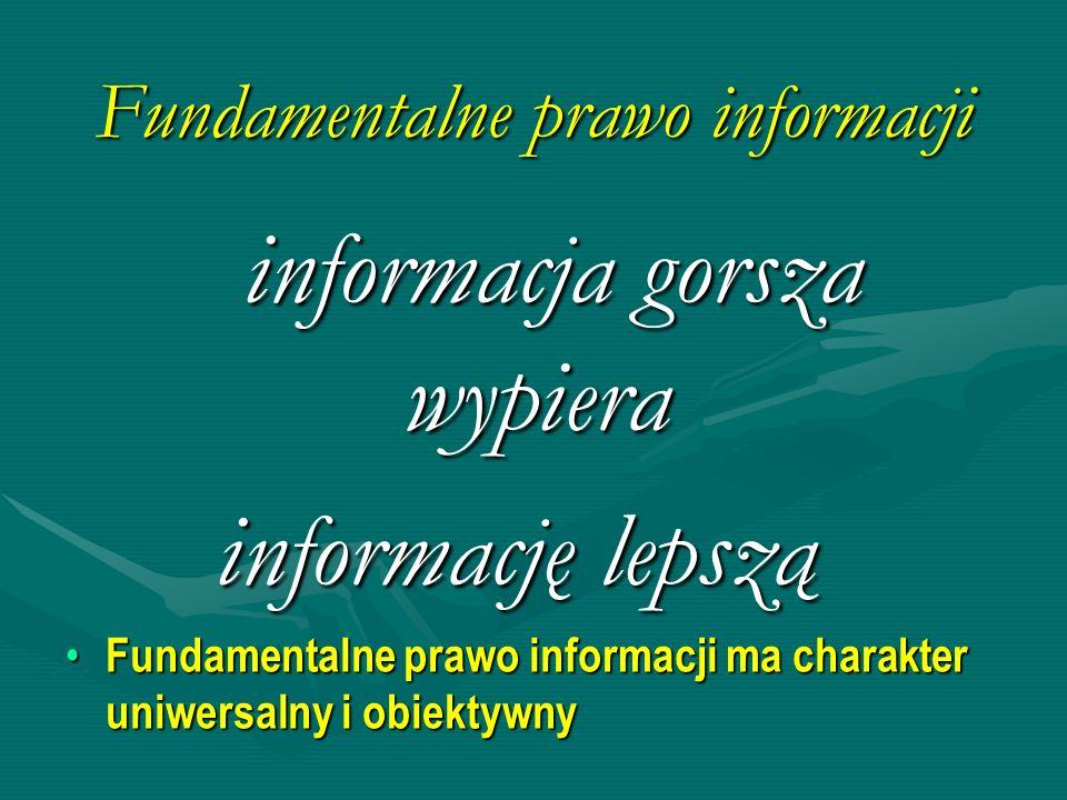 Fundamentalne prawo informacji