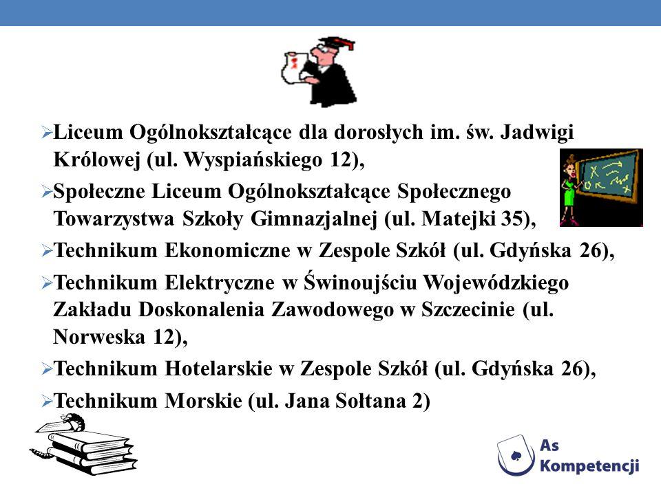 Liceum Ogólnokształcące dla dorosłych im. św. Jadwigi Królowej (ul