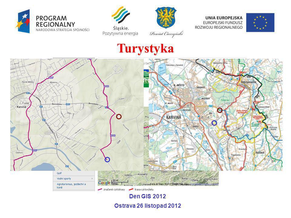 Turystyka Den GIS 2012 Ostrava 26 listopad 2012