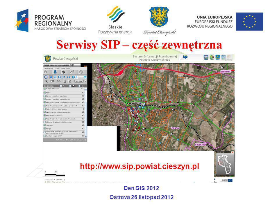 Serwisy SIP – część zewnętrzna
