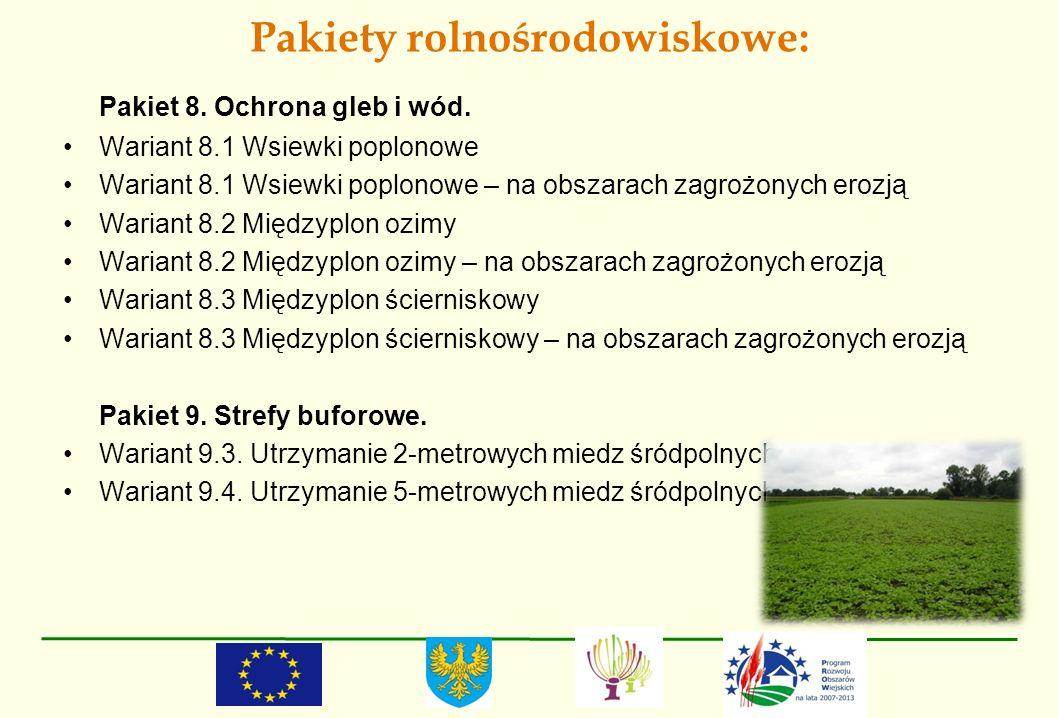 Pakiety rolnośrodowiskowe: