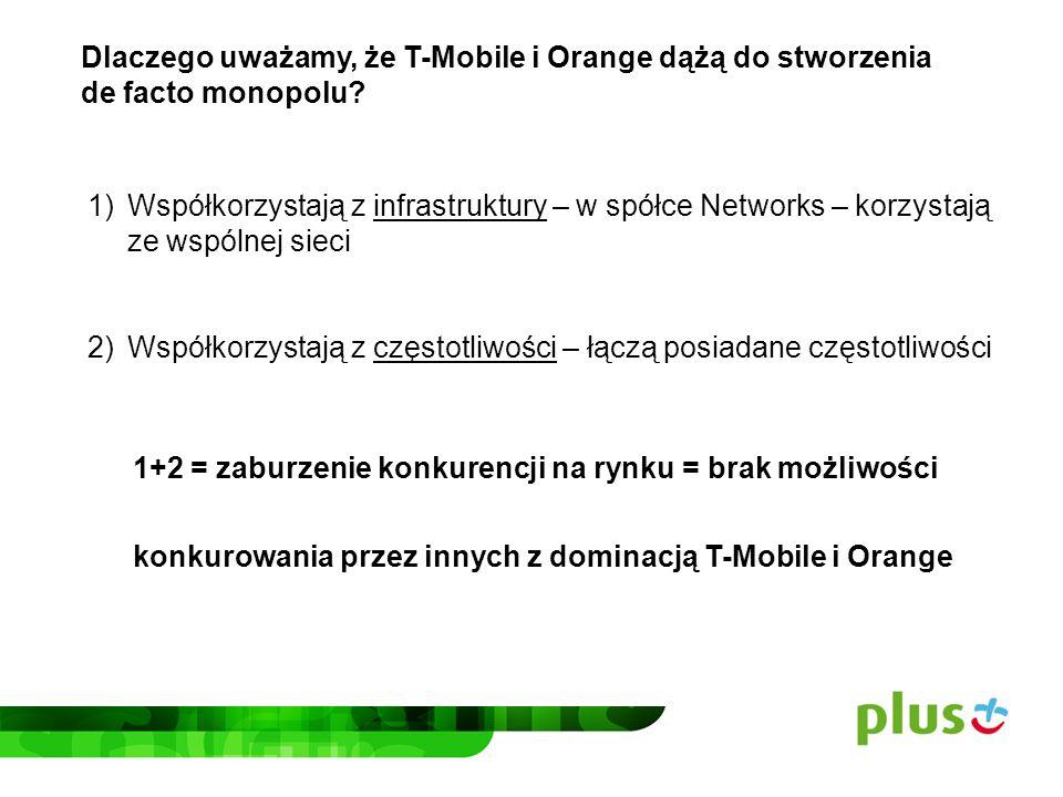 Dlaczego uważamy, że T-Mobile i Orange dążą do stworzenia