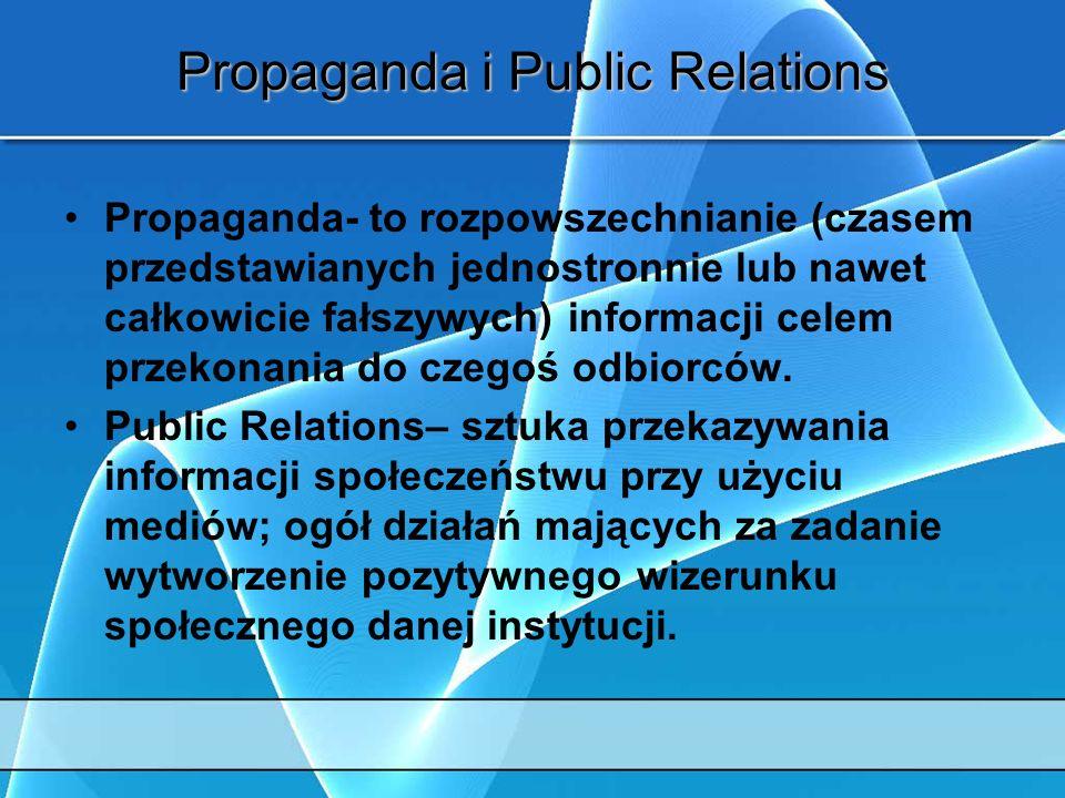 Propaganda i Public Relations