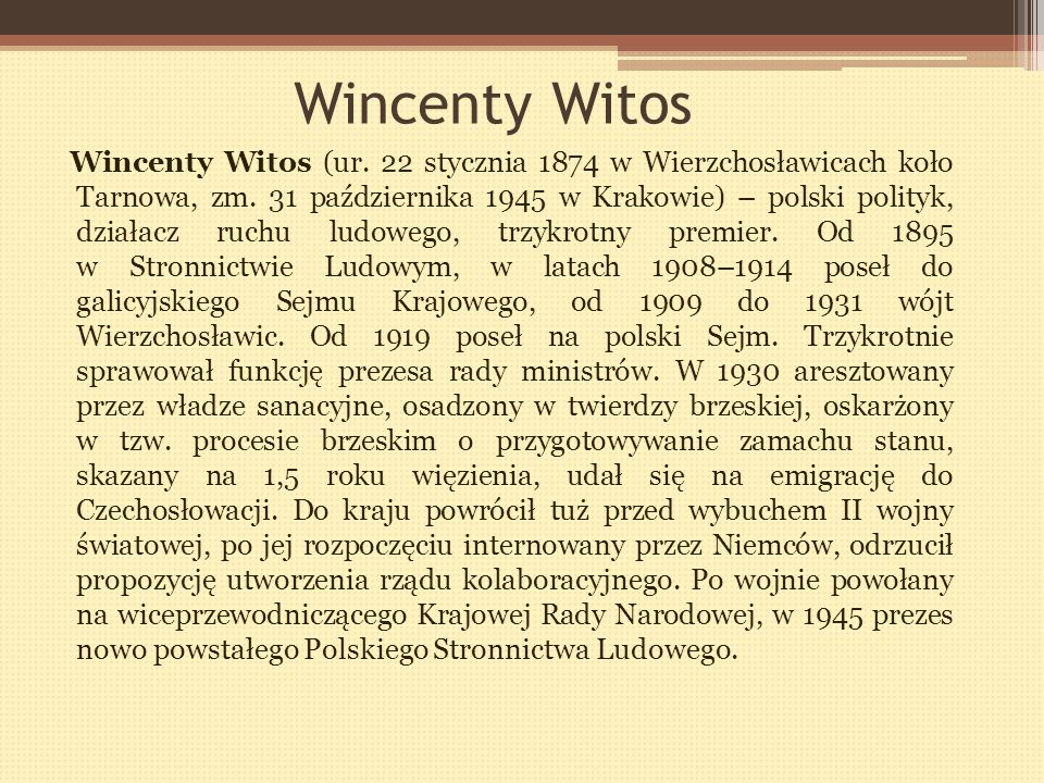 Wincenty Witos