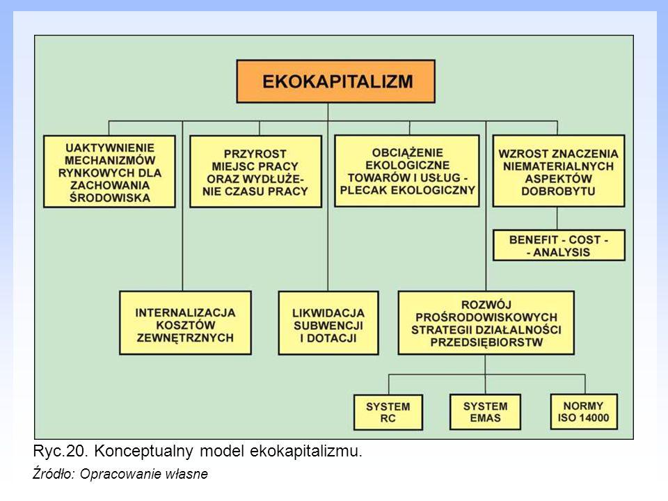 Ryc.20. Konceptualny model ekokapitalizmu.