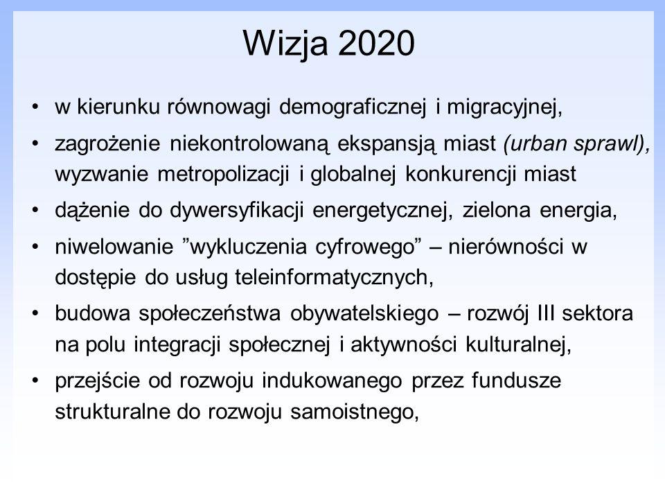 Wizja 2020 w kierunku równowagi demograficznej i migracyjnej,