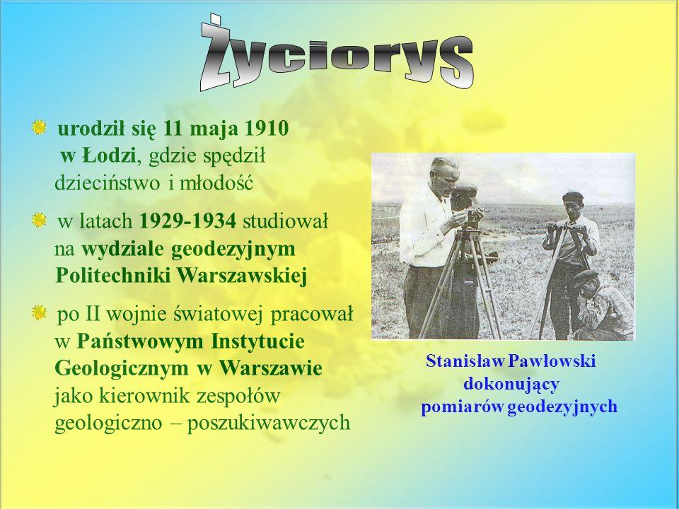Życiorys urodził się 11 maja 1910 w Łodzi, gdzie spędził